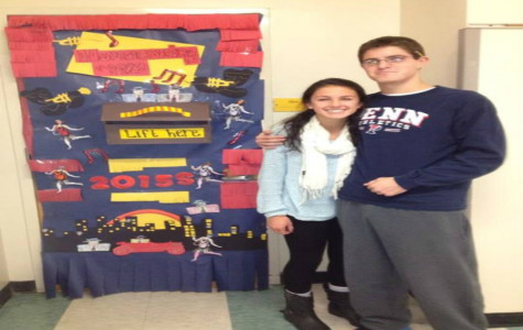 Advisory door decorating contest inspires creative and competitive students