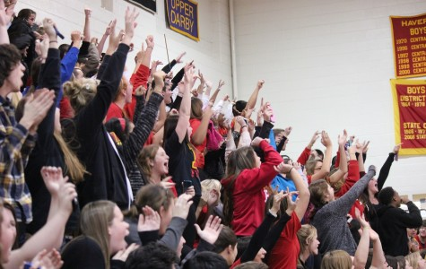Haverford faculty triumphs over Upper Darby staff in Homecoming basketball game