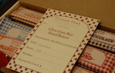 Students to sell Gertrude Hawk chocolate for field trip to New York City