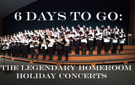 6 DAYS TO GO: The Legendary Homeroom Holiday Concerts