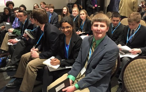 Students attend Model UN conference