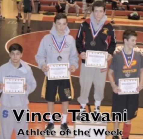 Athlete of the Week: Vince Tavani, Wrestling