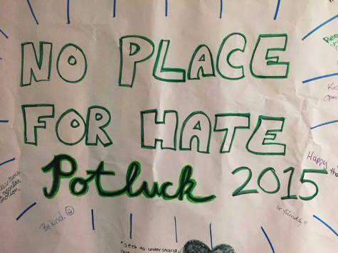 No Place for Hate Potluck Dinner turns sour in final moments