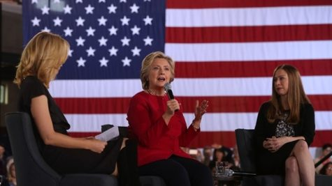 Democratic Presidential Nominee Hillary Clinton Visits Haverford Township Recreation Center