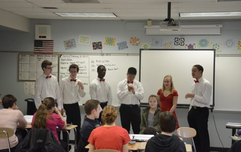 Haverford High School Chorus Department Celebrates Valentine's Day with Singing Valentines