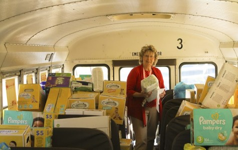 Child Development classes collect over 33,000 diapers, distribute to families in need