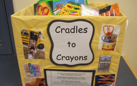 Business leaders and National Business Honors Society join forces to support local charity, Cradles to Crayons