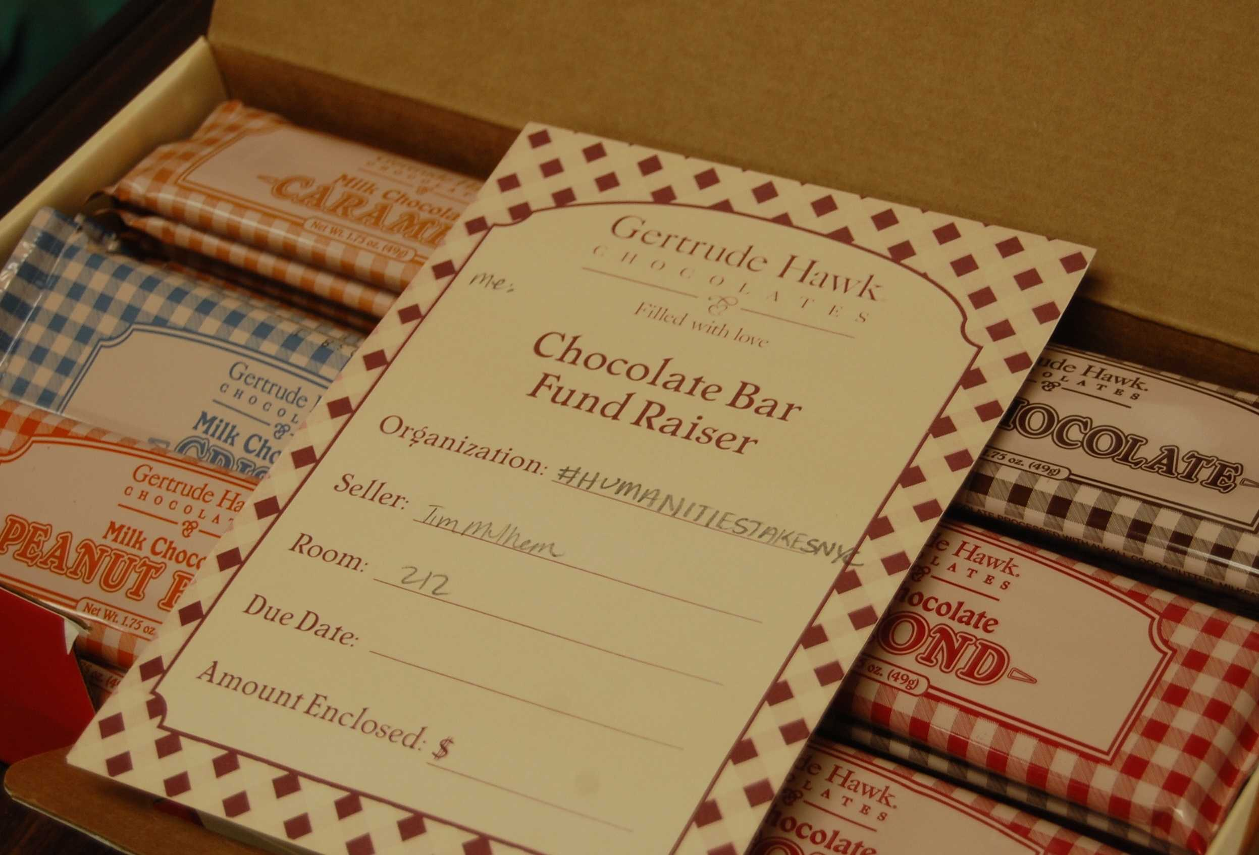 Students to sell Gertrude Hawk chocolate for field trip to New ...