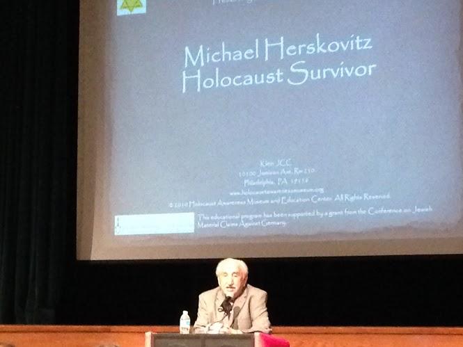 Holocaust Survivor Speaks at Haverford