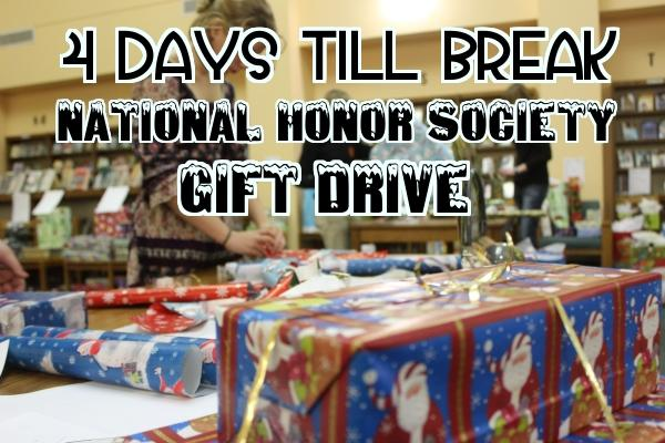 4 days to break: NHS gift drive and wrapping