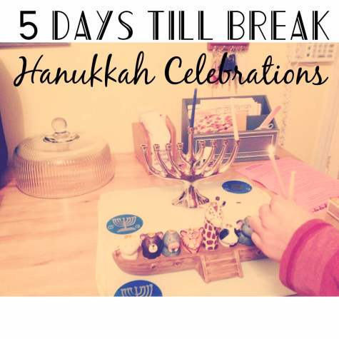 5 day to break: HHS students' Hanukkah celebrations