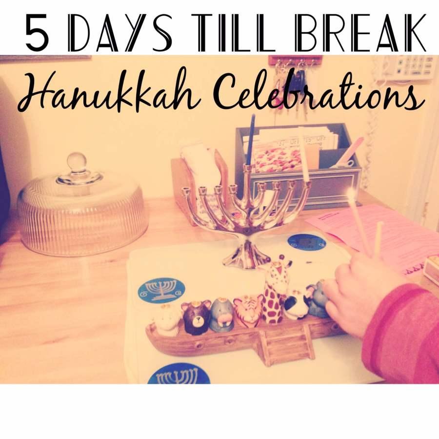 5 day to break: HHS students' Hanukkah celebrations