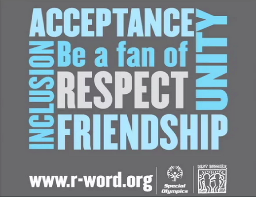 Best Buddies Club encourages respect during Spread the Word to End 'the Word' Day