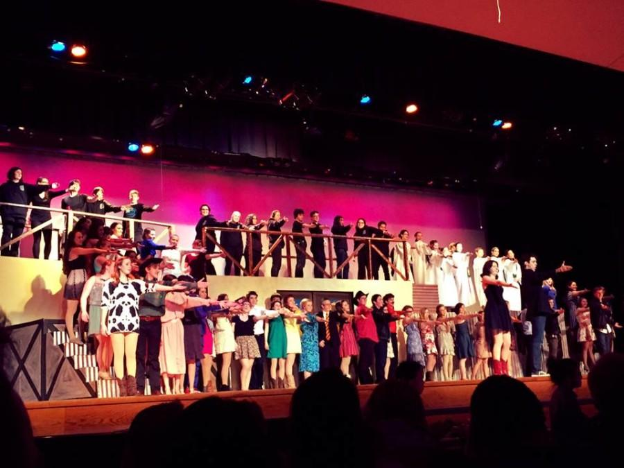 The cast and crew put on amazing performances that makes 'Footloose' one of the greatest shows to hit Haverford's stage.