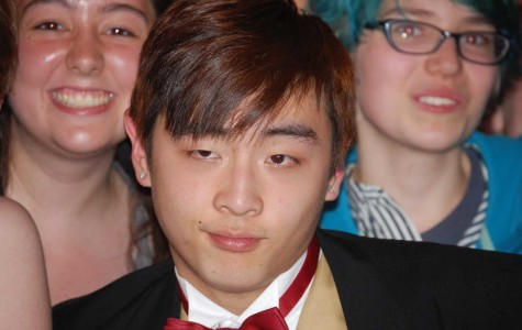 Senior Chris Lee is the new Mr. Haverford, and you can tell by this sassy yet sophisticated look.