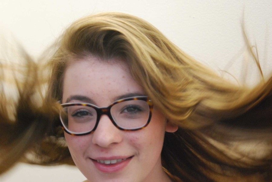 Junior Issy Swantak, Ms. Haverford 2015, was nominated for best Comic Actress in a Musical