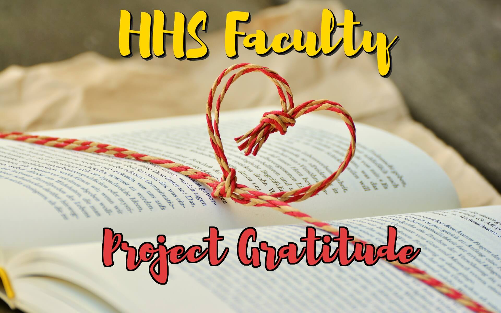 H-Vision offered teachers a chance to express their gratitude to the students who inspire them.