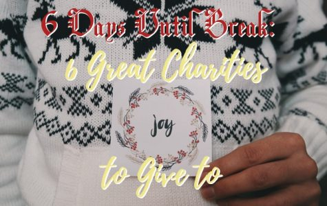COUNTDOWN TO WINTER BREAK: 6 Charities to Give to This Holiday Season