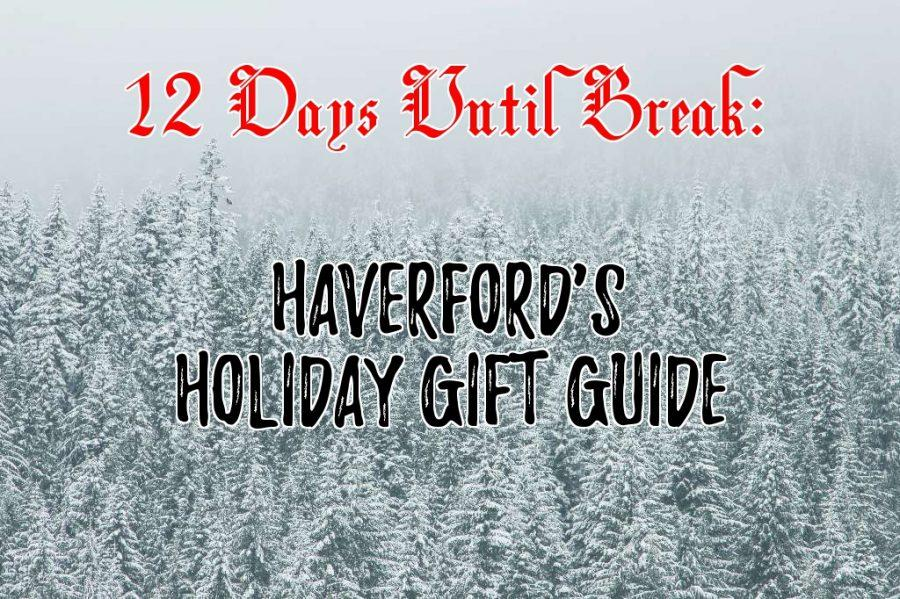 COUNTDOWN TO WINTER BREAK: Holiday Gift Guide