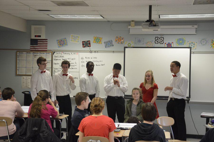 Haverford High School Chorus Department Celebrates Valentine's Day with Singing Valentines