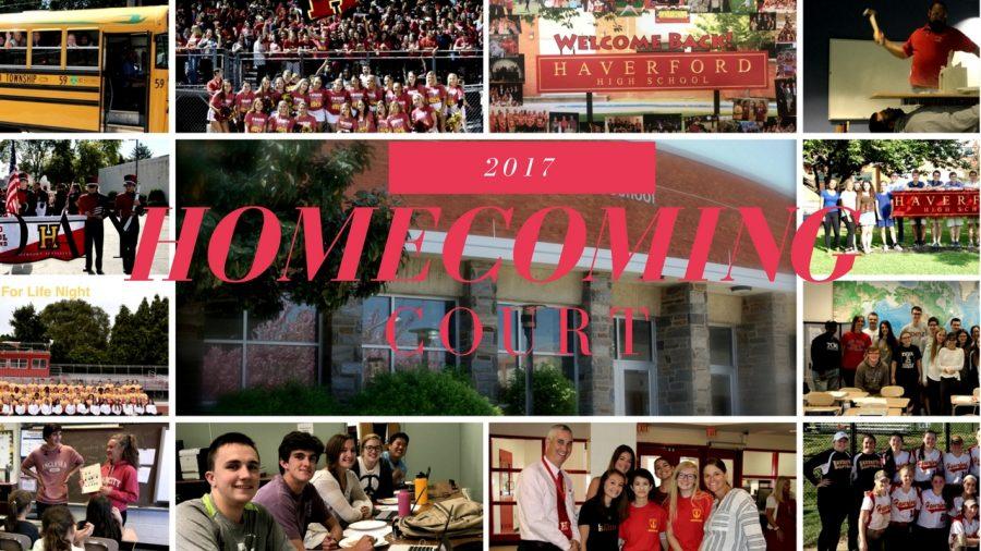 Homecoming Court Ballot 2017
