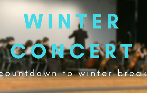 COUNTDOWN TO WINTERBREAK: Winter Holiday Concert Edition!