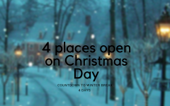 COUNTDOWN TO WINTERBREAK: 4 Places That Are Open On Christmas