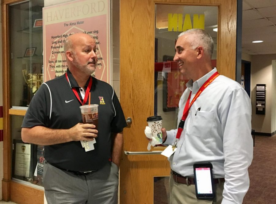 Principal Donaghy's Eager Approach to His Third Year at Haverford
