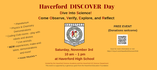 Haverford Science Academy Hosts DISCOVER Day