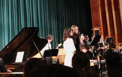 Musicians of Tri-M Music Honor Society perform