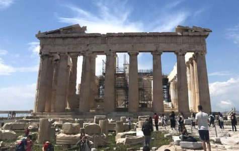 The Parthenon in Athens, Greece.
