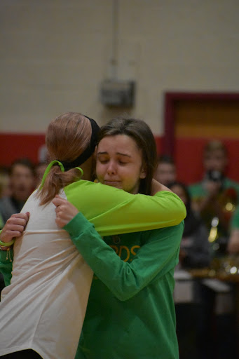 """Green Out For Hannah Hermansen and Lily Walker at """"Fords Fight For Life"""""""