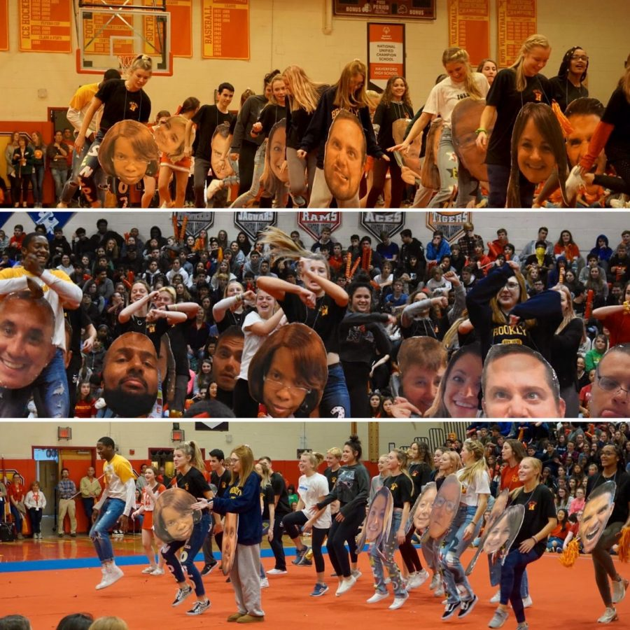 """Built Fords Tough"" Pep Rally Animates Students Before 98th Annual Turkey Bowl"