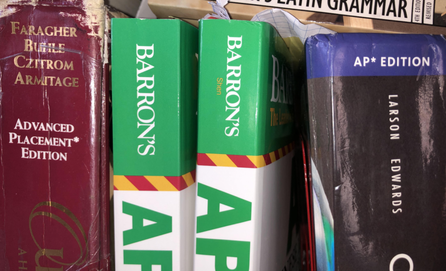AP test-takers can use one of many AP exam practice books to prepare themselves for the real exams.