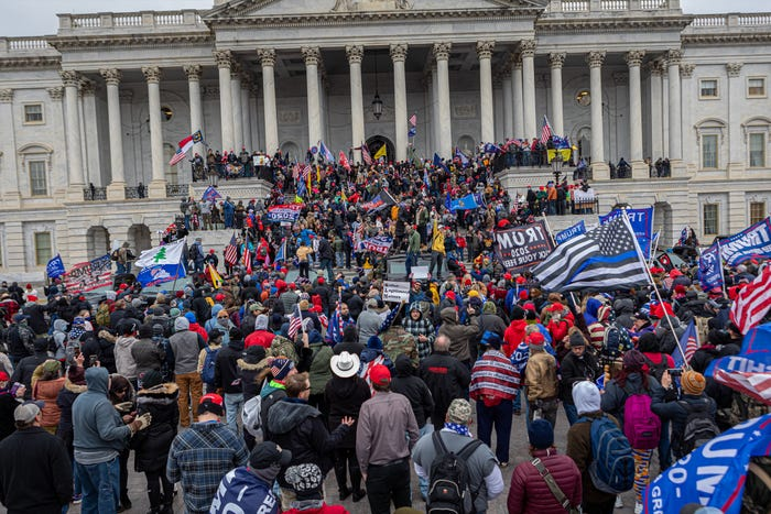 Siege of the US Capitol by Trump Supporters Incites Public Outrage