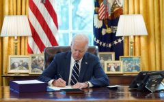 Joe Biden signed the $1.9 trillion relief bill which is focused on providing stimulus checks, helping with unemployment, combating the virus, and reopening schools.