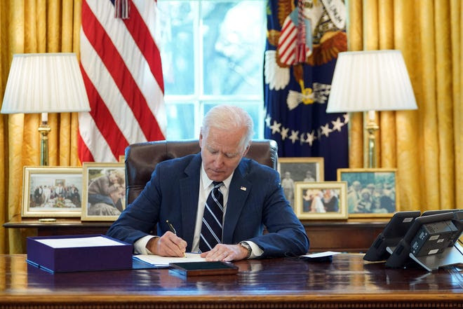 Joe Biden Signs COVID-19 Relief Bill