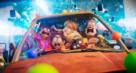 """In the animated movie """"The Mitchells vs. the Machines,"""" the Mitchell family's road trip turns into a fight to save the world from a robot apocalypse."""