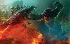 Godzilla and Kong face off in the long-awaited battle of the two iconic monsters.