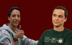 Abed from Community (left) and Sheldon from the Big Bang Theory (right) are classic examples of the nerd trope.