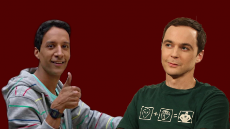 """Abed from Community (left) and Sheldon from the Big Bang Theory (right) are classic examples of the """"nerd trope."""""""